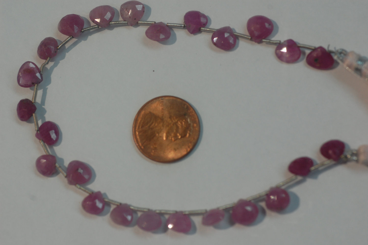 Natural Pink sapphire Hearts Faceted