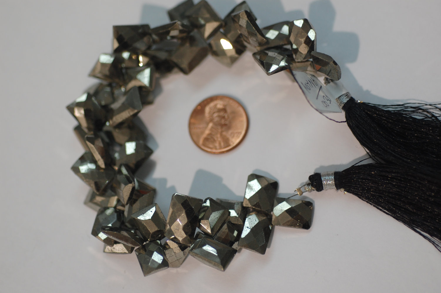Natural Pyrite Funky Cut Faceted