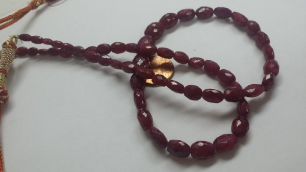 Natural Ruby Ovals