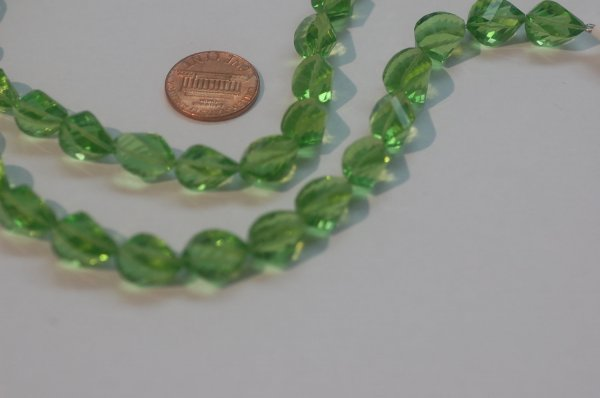 Peridot Hydro Quartz Faceted