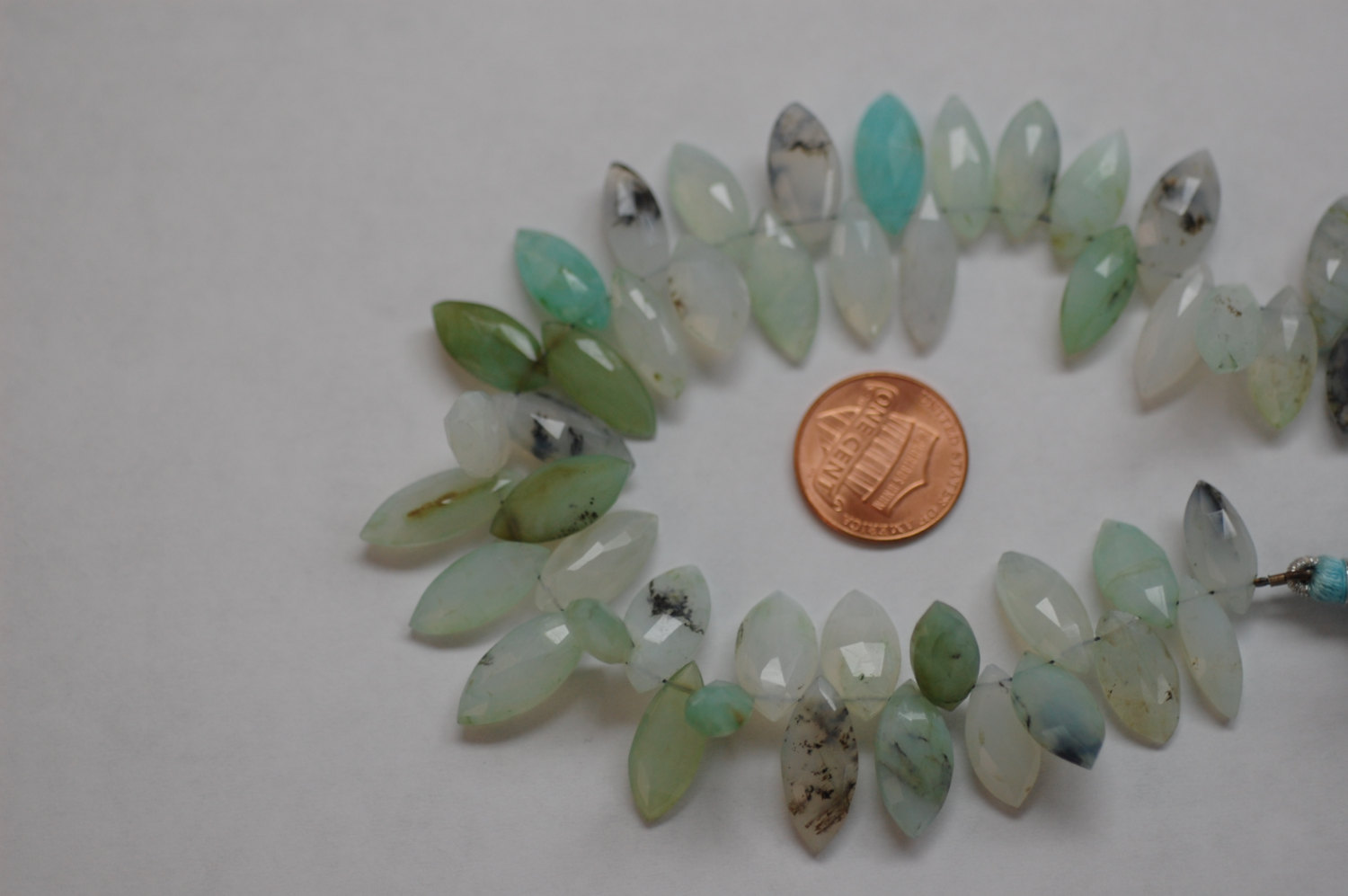Peruvian Opal Marquise Faceted