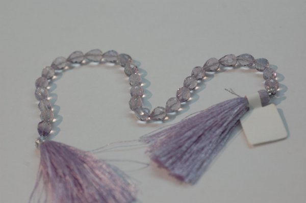 Pink Amethyst Straight Drill Drops Faceted