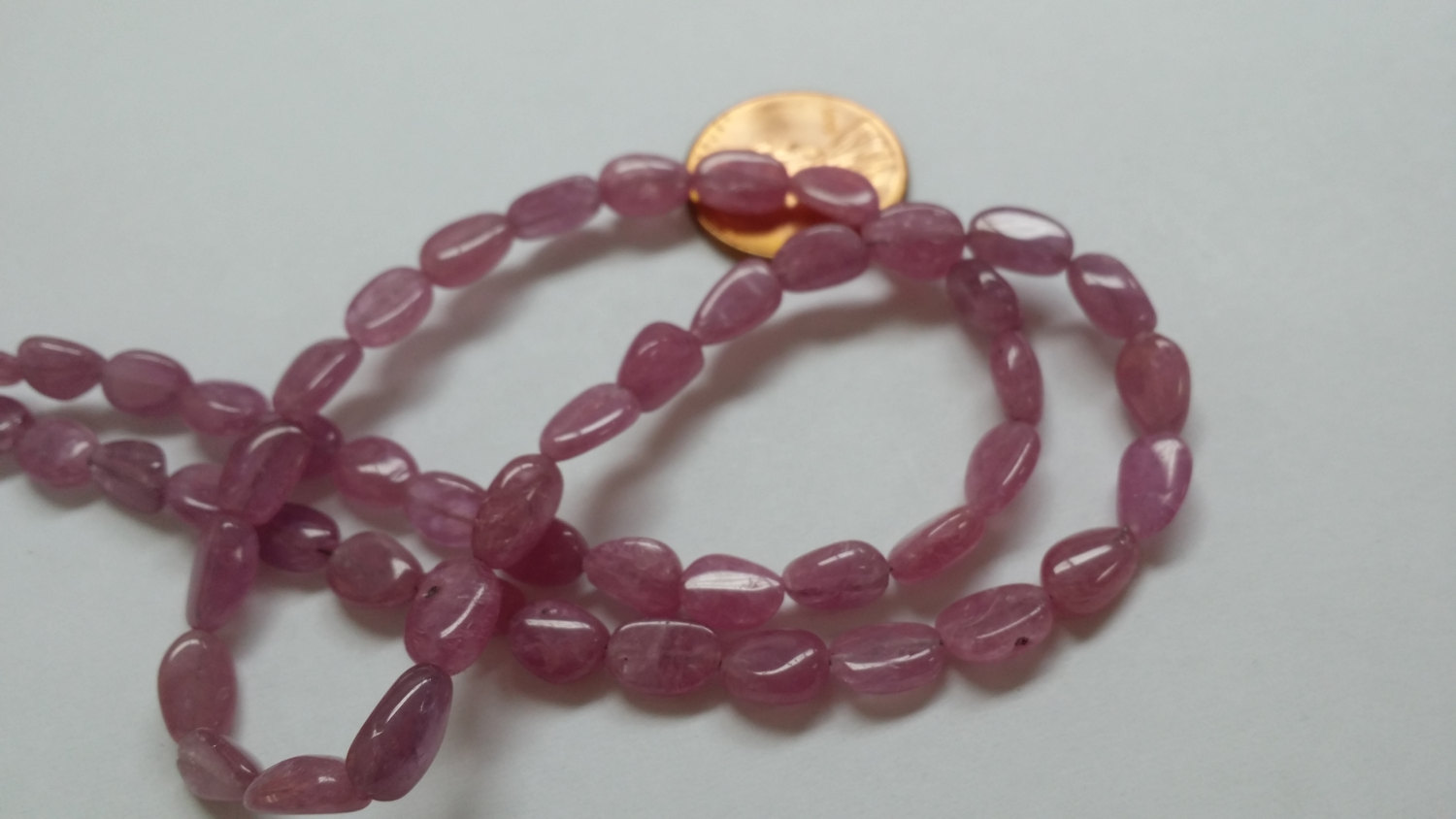Pink Sapphire Ovals Smooth