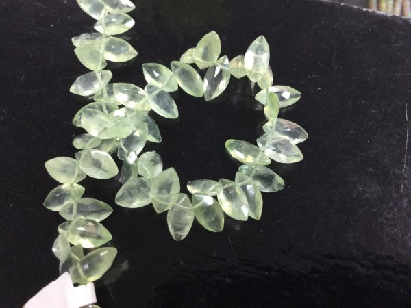 Prehnite Marquise Faceted