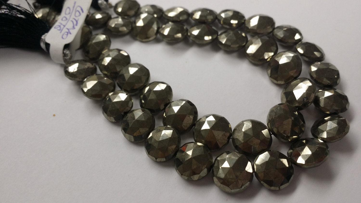 Pyrite Coins Faceted