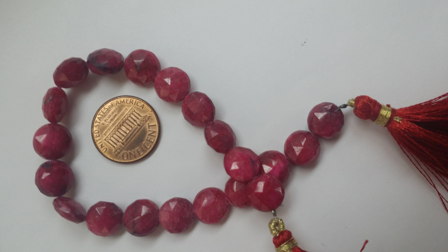 Ruby Coins Coated
