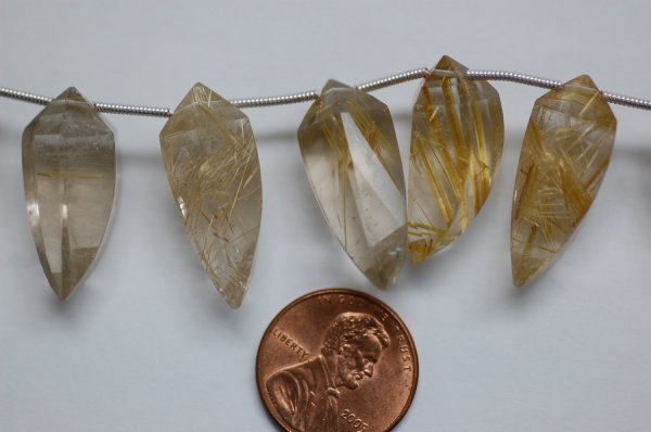 Rutilated Quartz Okra