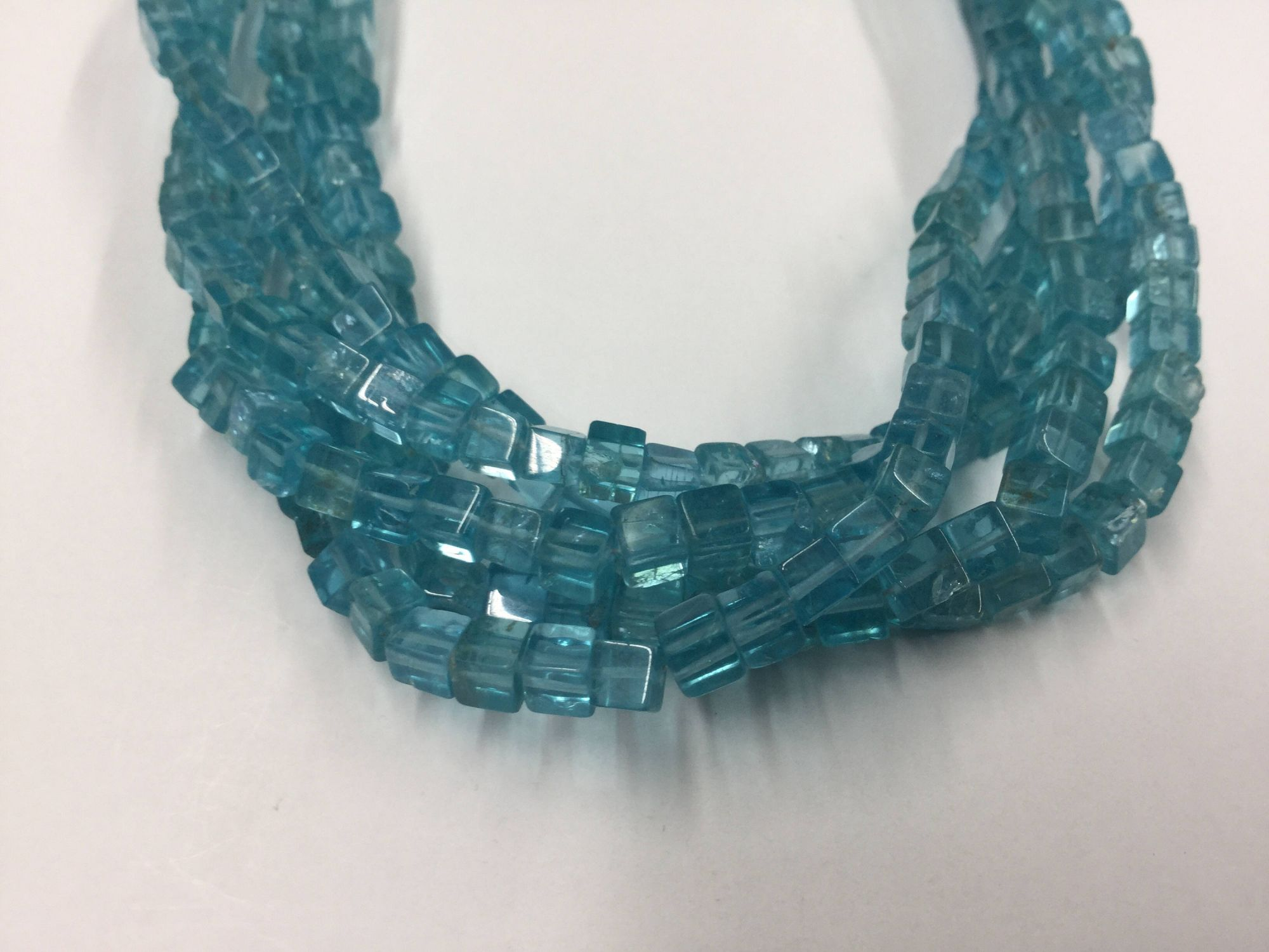 Sea-Green Apatite Squares Smooth