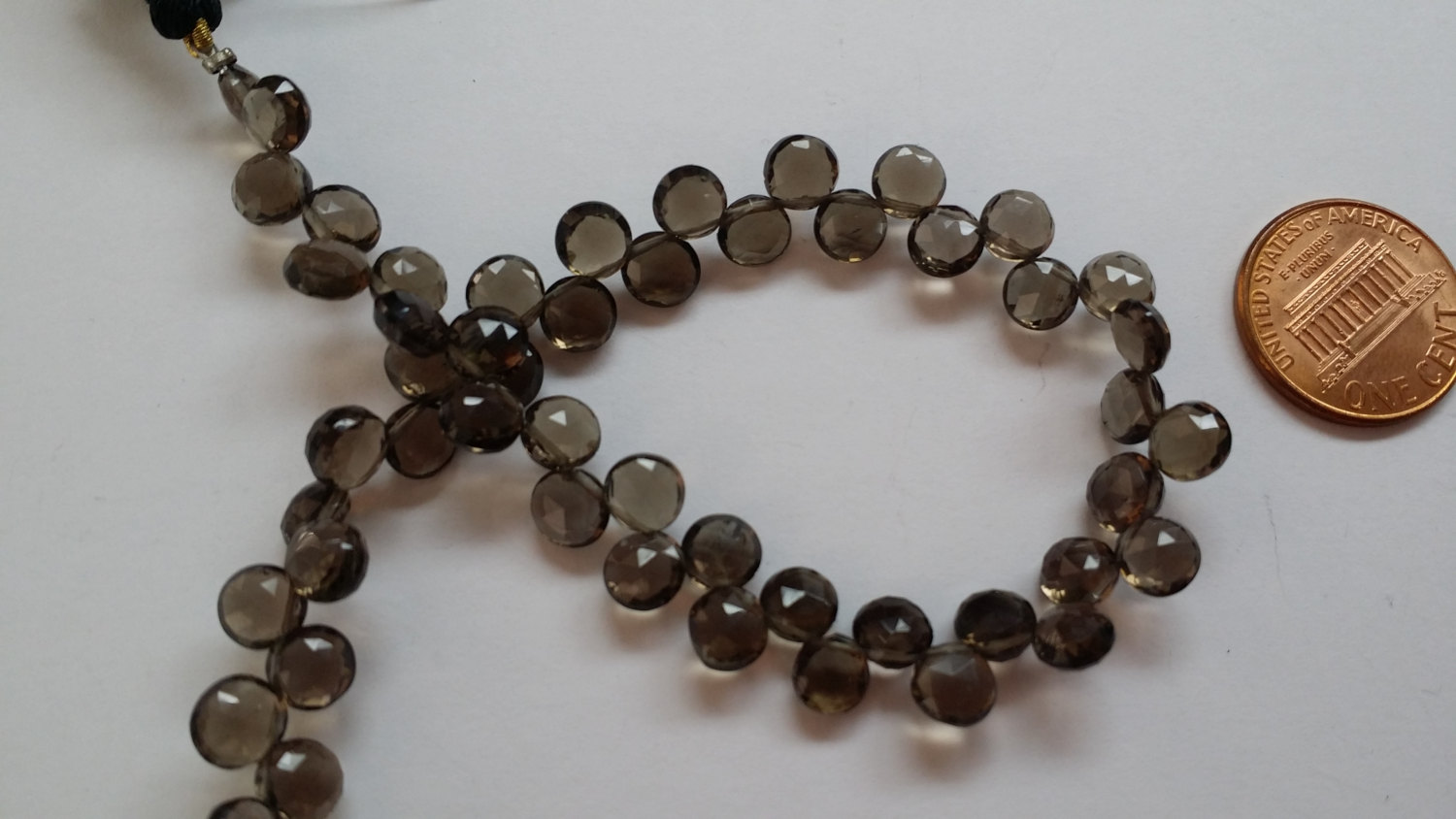 Smoky Rounds Faceted