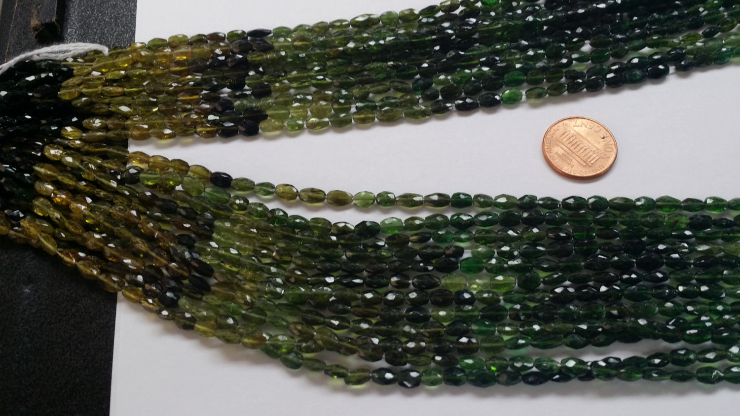 Tourmaline Ovals Faceted