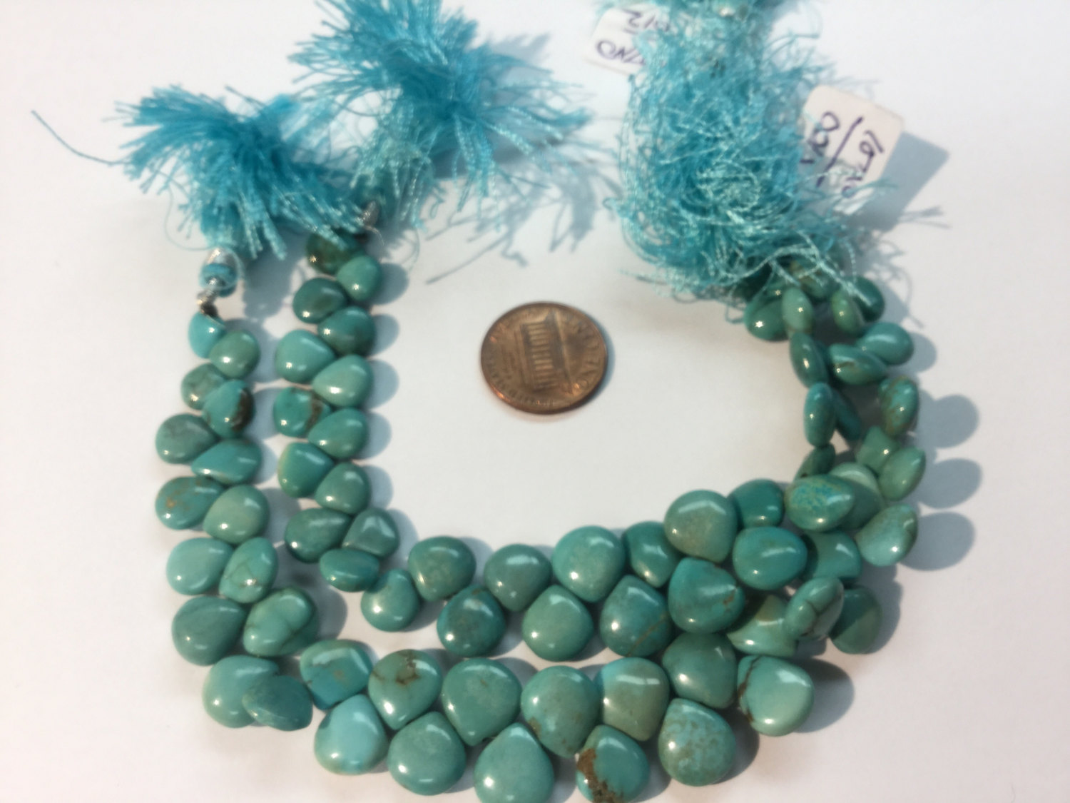 Turquoise Hearts Smooth