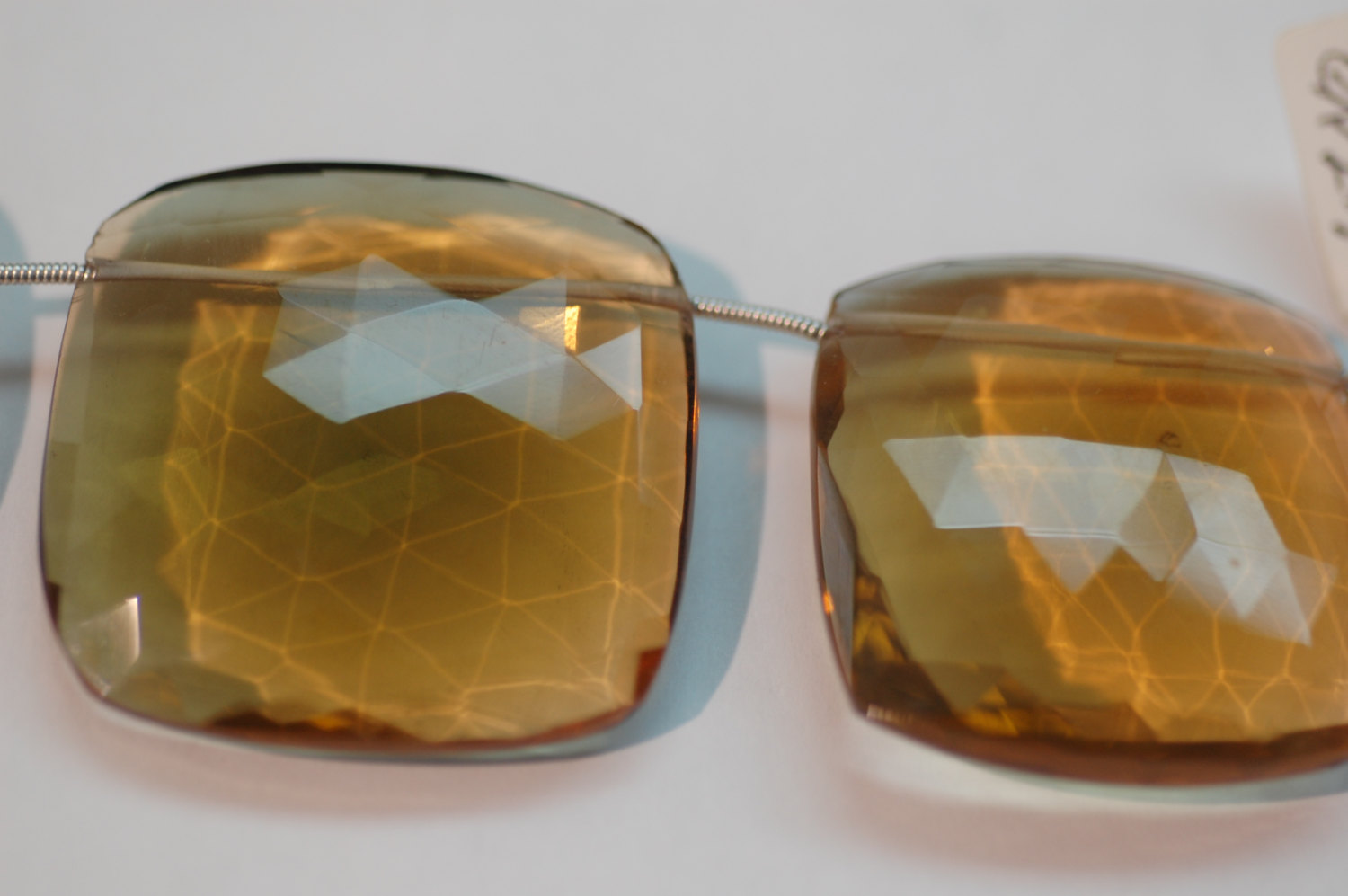 Whisky Hydro Quartz Cushion Faceted